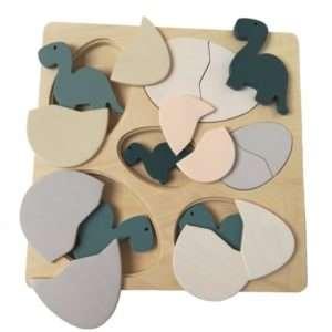 Puzzle dinosaure et oeufs – Egmont toys