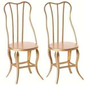 2 Chaises Vintage Dore – Maileg