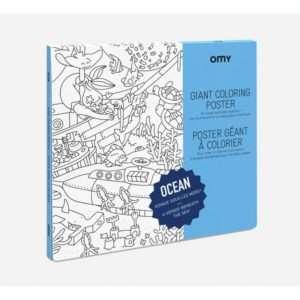 Poster géant à colorier Ocean – Omy