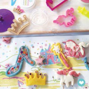 Kit de pâte à modeler naturelle Princesse – Wonderdough
