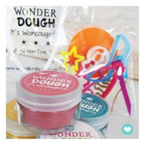 Kit de pâte à modeler naturelle Princesse mini – Wonderdough