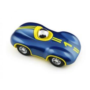 Voiture Speedy Le Mans Bleu/Jaune
