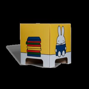 Tabouret Miffy Livre Jaune Carton – Mister Tody