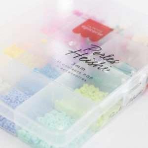 Boîte de perles Heishi pop 3 mm – La Petite Epicerie