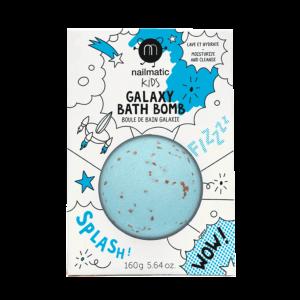 Boule de bain effervescente Comet Bleu – Nailmatic