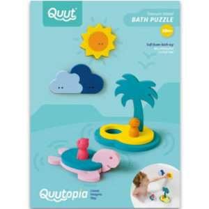 Puzzle de bain Ile au trésor – Quut