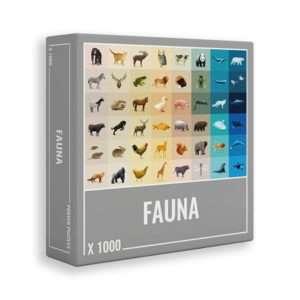 Puzzle 1000 pièces Faune – Poppik