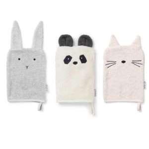 Set 3 gants Sylvester Girlie – Liewood