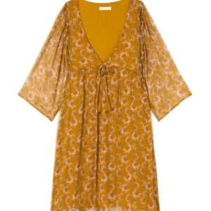 Robe Otti Cinnamon Flowers 38 – Louise Misha