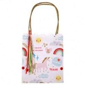 8 sacs à surprises licorne – Meri Meri