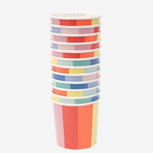 12 Gobelets Roue des couleurs – Meri Meri