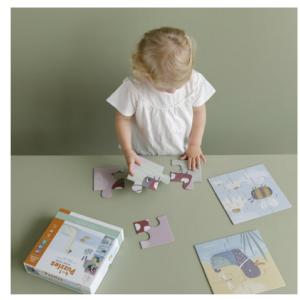 Puzzle 4 en 1 Petite Oie – Little Dutch