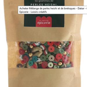 Kit breloques perles Heishi Dakar – La Petite Epicerie