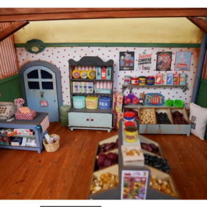 Kit de meubles à monter La Boutique – The Mansion Mouse