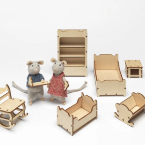 Kit mobilier à monter Chambre d'enfant – The Mouse Mansion