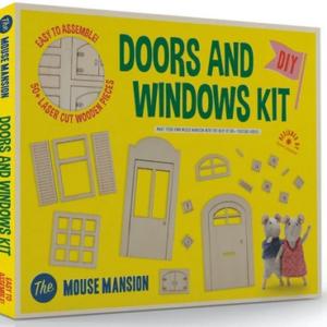 Kit de meubles à monter Portes et Fenêtres – The Mansion Mouse