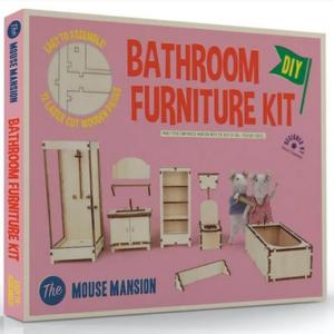 Kit de meubles à monter La Salle de Bain – The Mouse Mansion