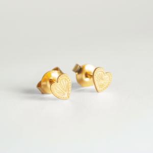 Boucles d'Oreilles Coeur Mexico – Adorabili