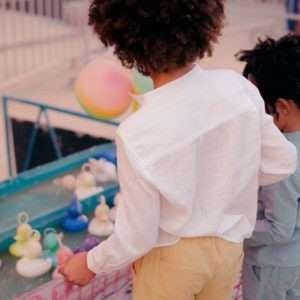 Chemise Amod écru 4 ans – Louise Misha