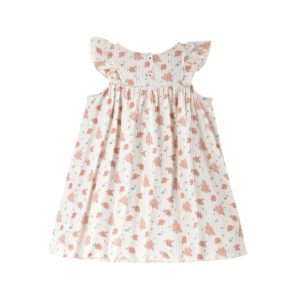 Robe Amita Off White Flowers 24 mois – Louise Misha