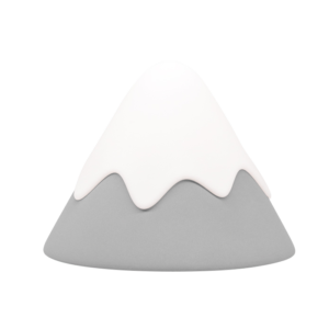 Veilleuse Snow Mountain grise – Muid