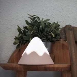 Veilleuse Snow Mountain rose – Muid