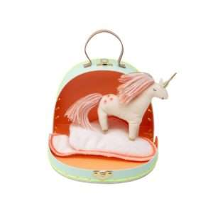 Mini valise maison Belle la Licorne – Meri Meri