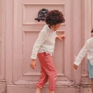 Pantalon Acilu Terracota 4 ans – Louise Misha