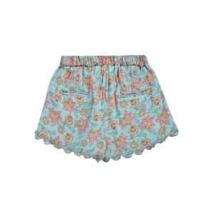 Short Vallaloid Turquoise Flowers 4 ans – Louise Misha