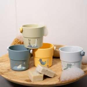 4 gobelets de bain Little Goose – Little Dutch