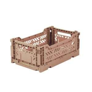 Caisse de rangement mini Taupe – Ay-Kasa