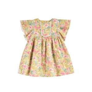 Robe Christina Soft Honey Parrots 4 ans – Louise Misha