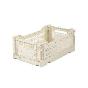 Caisse de rangement mini cream – Ay-Kasa