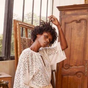 Blouse Maribel Cream Lace 36 – Louise Misha