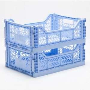 Caisse de rangement mini Baby Blue – Ay-Kasa