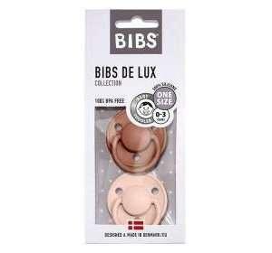 Pack de 2 sucettes De Lux Terracotta Rose Poudré – Bibs