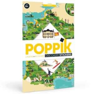 Poster stickers La Carte de France – Poppik