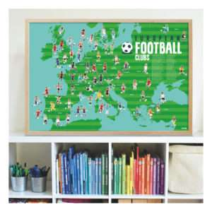 Poster stickers Club de Foot – Poppik