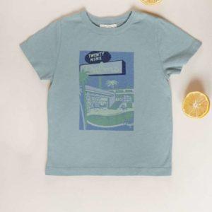 T-shirt Atayo Vintage Blue 8 ans – Louise Misha