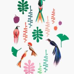 Wall of curiosities Bird décoration murale – Studio Roof
