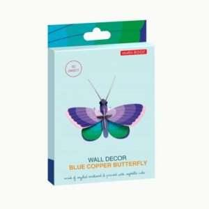 Blue Copper Butterfly décoration murale – Studio Roof