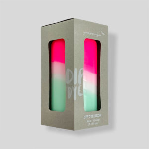 Bougie Neon Peppermint Tower – Pink Stories
