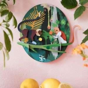 Jungle Monkey décoration murale – Studio Roof