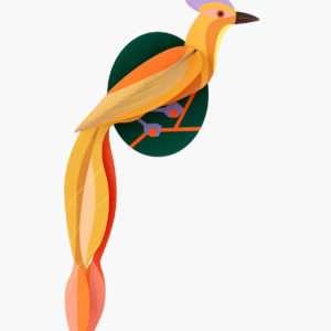 Paradise Bird Olango décoration murale – Studio Roof