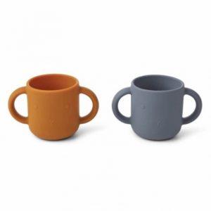 Set de 2 cups Gene Lapin Bleu – Liewood