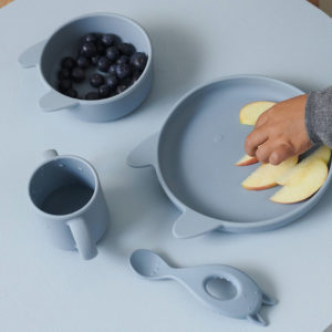 Set repas Vivi Lapin Bleu – Liewood