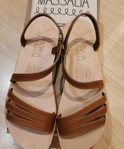 Sandale Lisette Naturel 37 – Massalia