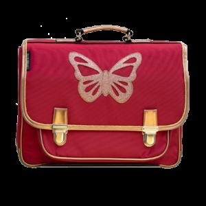 Cartable Moyen Papillon Rubis – Caramel &Cie