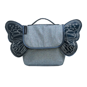 Sac Papillon paillettes bleu – Caramel et Cie
