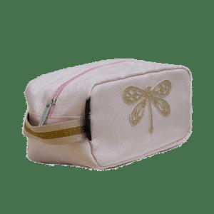 Trousse de toilette Libellule rose – Caramel & Cie
